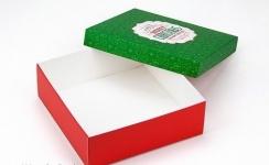 фото 26060  Подарочная коробка Merry Christmas 18х18х6 см цена, отзывы