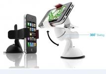 фото 4137  Универсальный держатель для смартфонов White цена, отзывы
