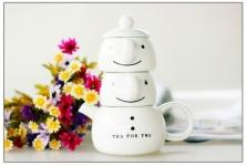 фото 9343  Чайный набор для двоих Снеговик цена, отзывы