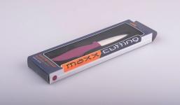 фото 3918  Нож керамический бордовый 7,6 см. цена, отзывы