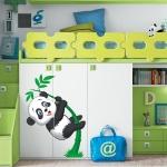 фото 5850  Наклейка Детская Little Panda цена, отзывы