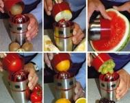 фото 2097  Ручная соковыжималка Pro V Juicer+ шейкер и набор для украшения блюд цена, отзывы