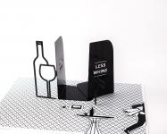 фото 10114  Держатели для книг Больше вина меньше нытья цена, отзывы