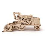 фото 9545  Механический 3D пазл Комбайн цена, отзывы