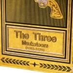 фото 26007  Книги сейф с кодовым замком The Three Musketeers 26 см цена, отзывы