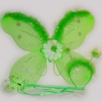 фото 8739  Набор Бабочки с пухом (3 цвета) цена, отзывы