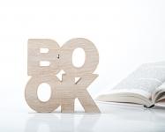 фото 10063  Держатель для книг Book дерево цена, отзывы
