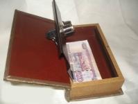 фото 6746  Книга сейф золото полуботка 26 см цена, отзывы