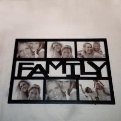 купить Фоторамка Family 6 фото 49*33 цена, отзывы