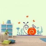фото 5856  Наклейка Детская Snail цена, отзывы