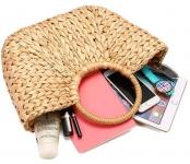 фото 26265  Соломенная сумка с ручками Luxury Small цена, отзывы