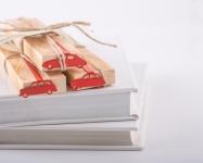фото 4698  Закладка для книг Ситроен 2СV цена, отзывы