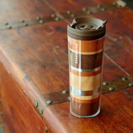купить Акриловая термокружка Starbucks Натуральное Дерево цена, отзывы