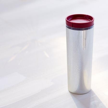 купить Акриловая термокружка Starbucks Серебро цена, отзывы