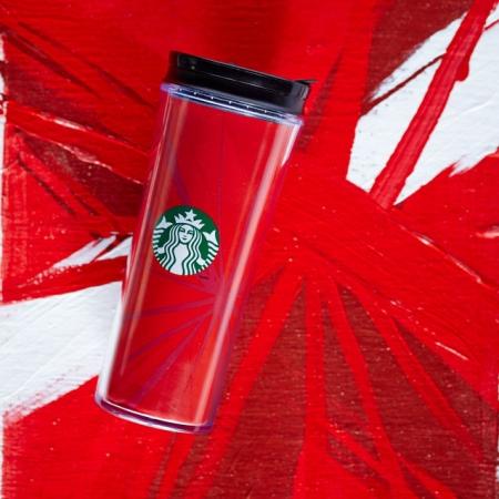 купить Акриловая термокружка Starbucks  Праздник цена, отзывы