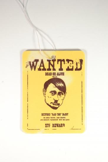 купить Автомобильный ароматизатор Wanted Путин цена, отзывы