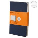 купить Блокнот Moleskine Cahier маленький синий цена, отзывы