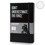 купить Блокнот Moleskine Star Wars средний Линейка Черный цена, отзывы