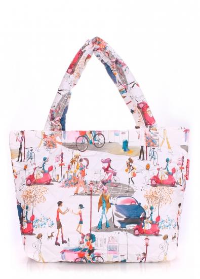 купить Болоньевая сумка на синтепоне Girl цена, отзывы