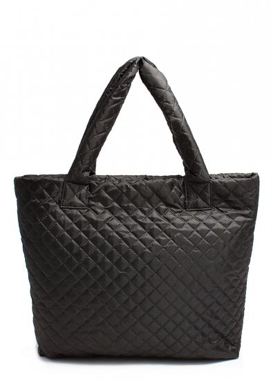 купить Болоньевая сумка на синтепоне черная Eco  цена, отзывы