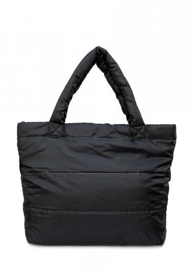 купить Болоньевая сумка на синтепоне черная Pool цена, отзывы