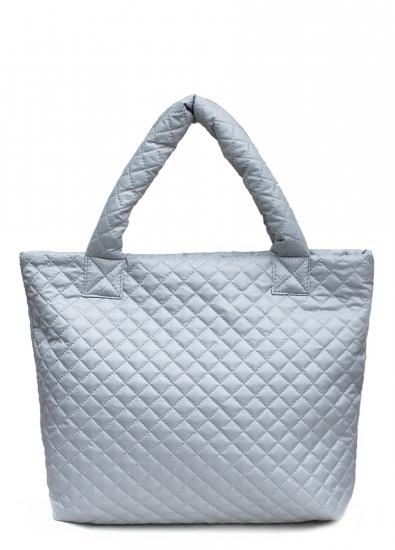 купить Болоньевая сумка на синтепоне серая Eco  цена, отзывы