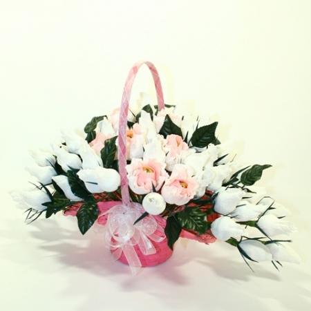 купить Букет из конфет Свадебные цветы цена, отзывы