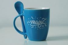 купить Чашка+ложка Magic цена, отзывы