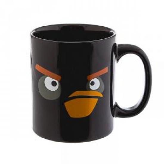 купить Чашка Angry Birds черная цена, отзывы