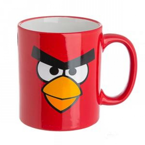 купить Чашка Angry Birds красная цена, отзывы