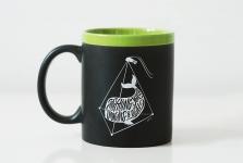 купить Чашка Everything you can imagine is real Green цена, отзывы