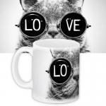 купить Чашка Love цена, отзывы