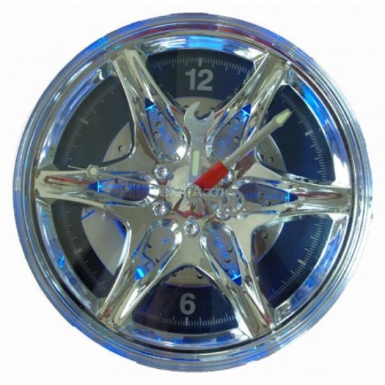купить Часы-диск  28 см, с подсветкой цена, отзывы