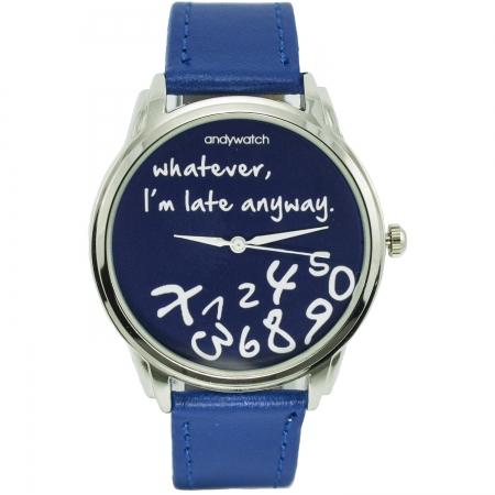 купить Часы наручные I am late blue цена, отзывы