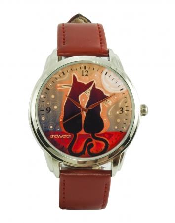 купить Часы наручные Котики на закате цена, отзывы