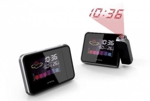 купить Часы метеостанция с проектором времени цена, отзывы