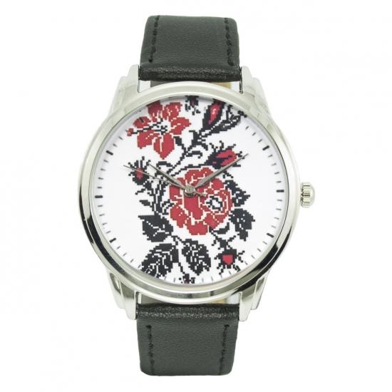 купить Часы наручные цветы вышиванки цена, отзывы