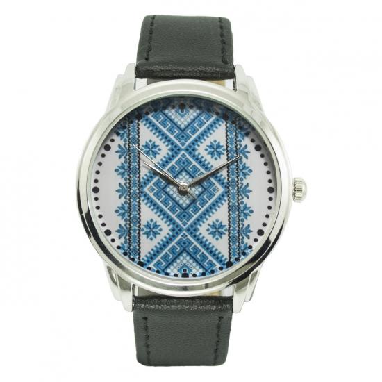 купить Часы наручные синяя вышиванка цена, отзывы