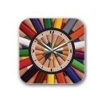 купить Декоративные настенные часы Pencils цена, отзывы
