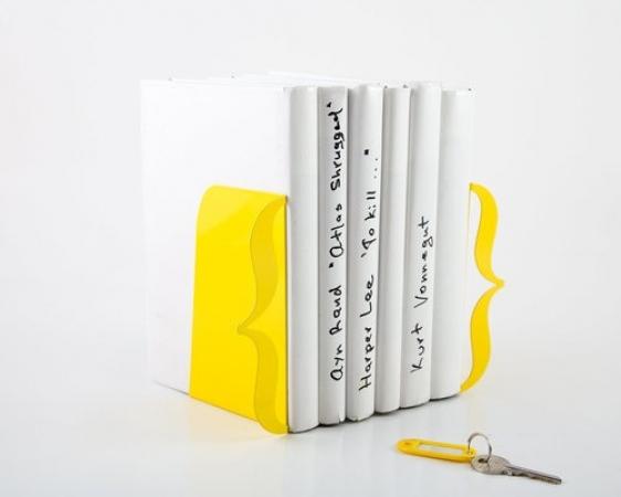 купить Держатель для книг Brackets лимонно-желтый цена, отзывы