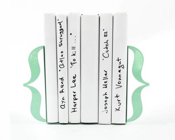 купить Держатель для книг Brackets мятно-бирюзовый цена, отзывы