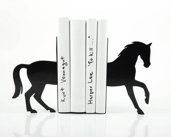 купить Держатель для книг Черный конь цена, отзывы
