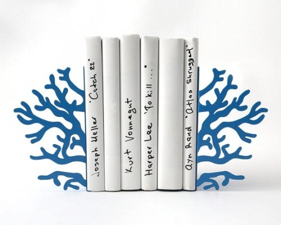 купить Держатель для книг Голубой коралл цена, отзывы