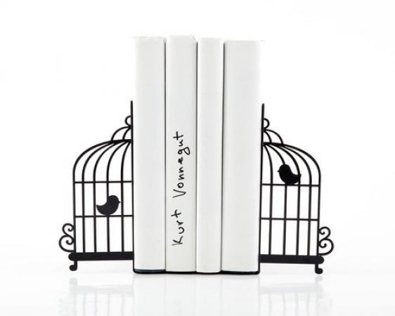 купить Держатель для книг Клетка с птицами цена, отзывы