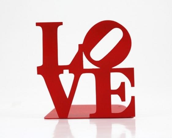 купить Держатель для книг LOVE цена, отзывы