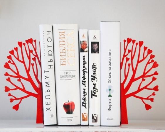 купить Держатель для книг Любовь и Книги цена, отзывы