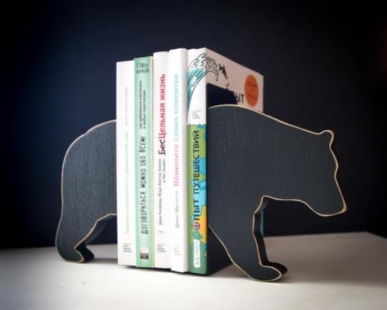 купить Держатель для книг Медведь цена, отзывы
