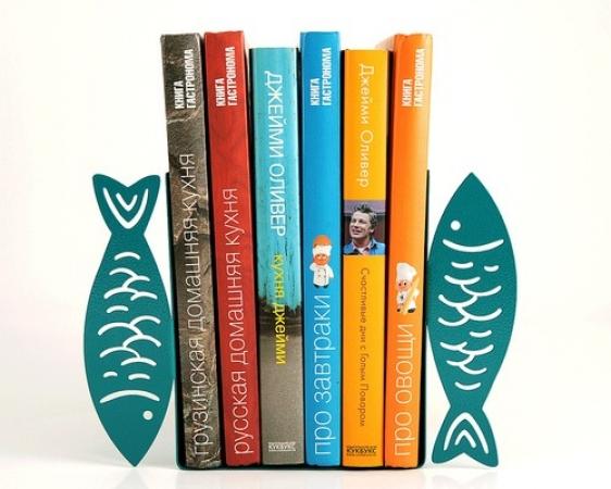 купить Держатель для книг Рыбки цена, отзывы