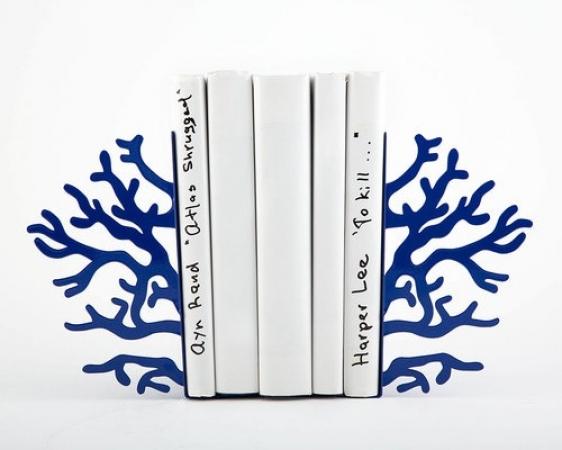 купить Держатель для книг Синий коралл цена, отзывы