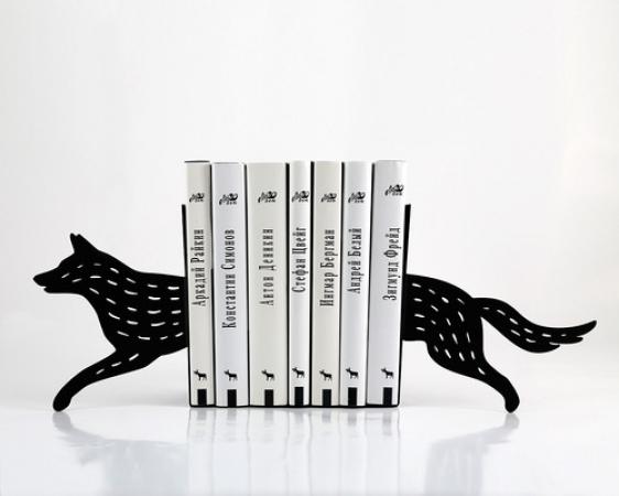 купить Держатель для книг волк цена, отзывы